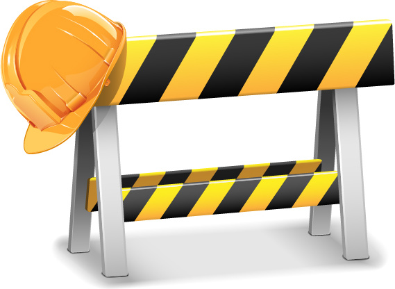 Creative Construction Sign With Tool Vector Free Vector In