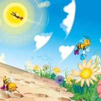 Bumble Bees and Jelly Trees (A Children's Poem)