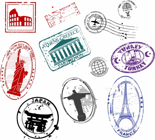 Stamp Free Vector Download 843 Free Vector For