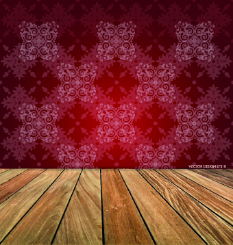 Floor And Christmas Background Vector Set Free Vector In