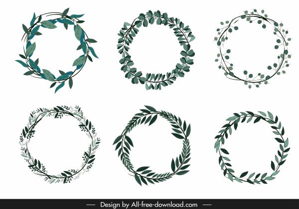 wreath template # 16