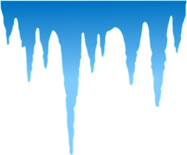Icicle Cartoon Clip Art