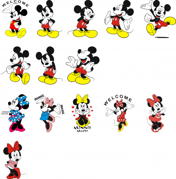 Minnie Mouse Free Vector In Coreldraw Cdr Cdr Format Format For Free Download 1 63mb