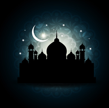 Free Islamic Mosque Vector Graphic Free Vector Download