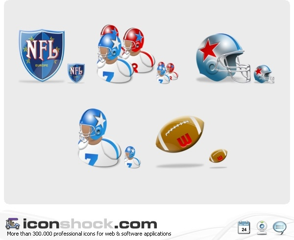 Download NFL Vista Icons icons pack Free icon in format for free ...