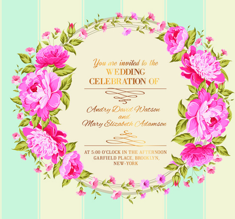 Invitation Card Border Flower Free Vector 25 455 For Mercial Use Format Ai Eps Cdr Svg Ilration Graphic Art Design