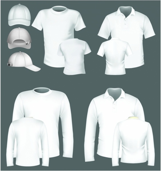 Polo Shirt And T Shirt Design Template Free Vector In Adobe
