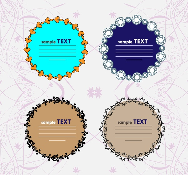 Round Frame Vector Free Vector Download 9529 Free Vector