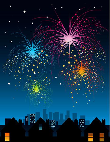 Clip Download Art Free Fireworks