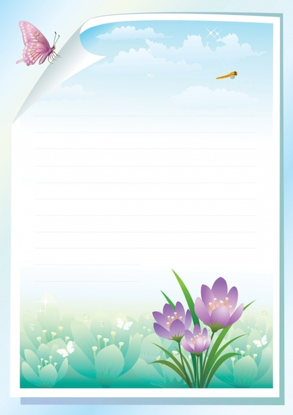 Stationery Borders Free Download Free Vector Download