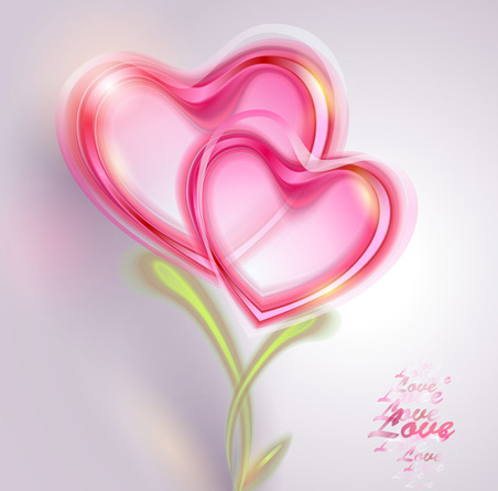 Valentine Day Love Backgrounds Vector Free Vector In