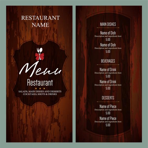 Menus Templates stylish food menu templates entheos free – Dinner Party Menu Templates Free Download