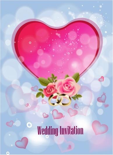 Wedding Invitation Background Free Vector In Adobe
