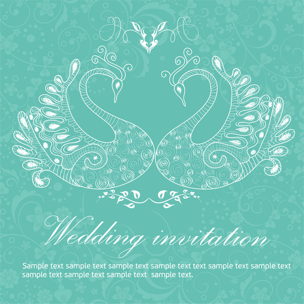 Wedding Invitation Vector Free 2 668 For Mercial Use Format Ai Eps Cdr Svg Ilration Graphic Art Design