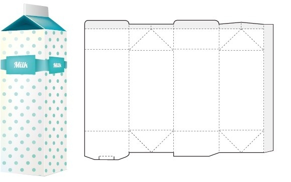 Product Box Packaging Design Templates Free Vector Download
