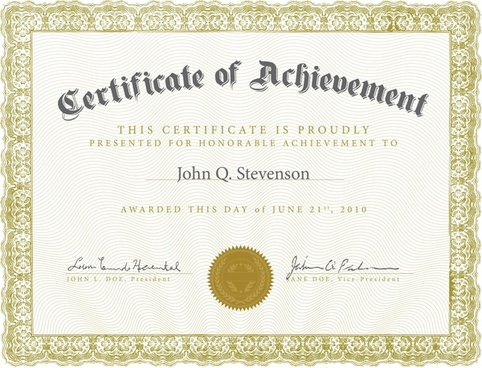 Certificate Free Vector Download 882 Free Vector For