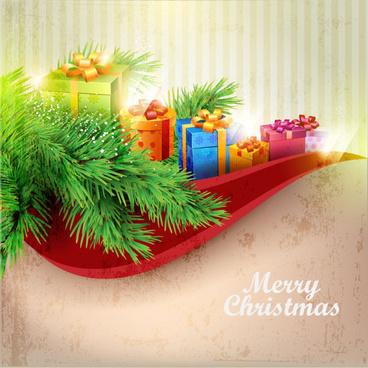 Ornamental Christmas Decoration Elements Vector