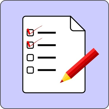 Image result for checklist image free