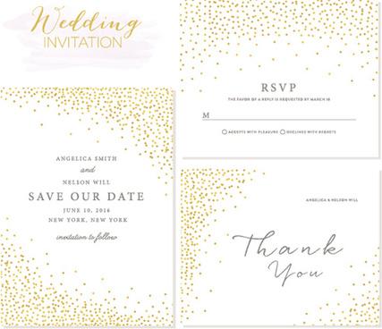 elegant invitation free vector download