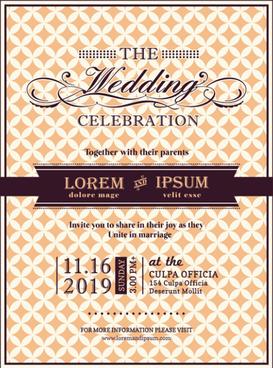 Gallery Of Wedding Invitations Template