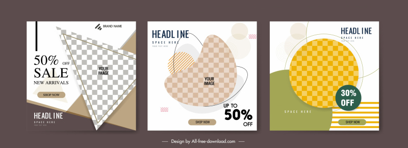 poster background template free vector