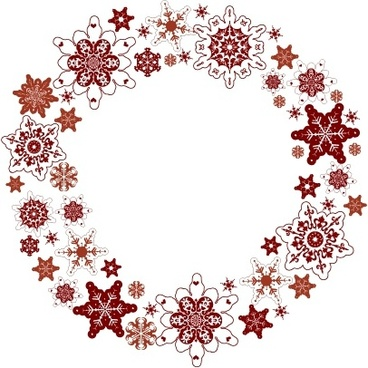 wreath template free svg # 68