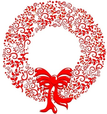 wreath template free svg # 46
