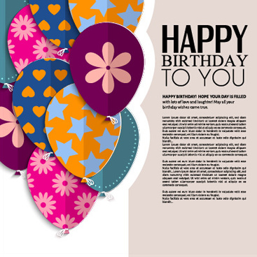Love Birthday Greeting Cards Free Vector Download 19 865 Free Vector For Commercial Use Format Ai Eps Cdr Svg Vector Illustration Graphic Art Design