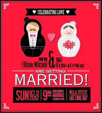 Vine Wedding Invitation Card Creative Vector