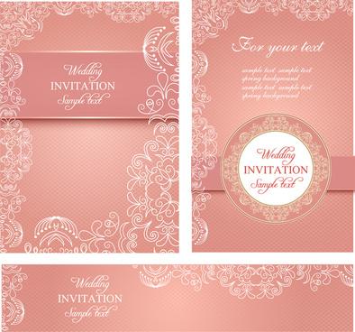 Wedding Invitation Card Format Free Vector 226 995