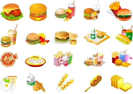 Free Fast Food Clip Art Free Vector Download 223 974 Free Vector For Commercial Use Format Ai Eps Cdr Svg Vector Illustration Graphic Art Design