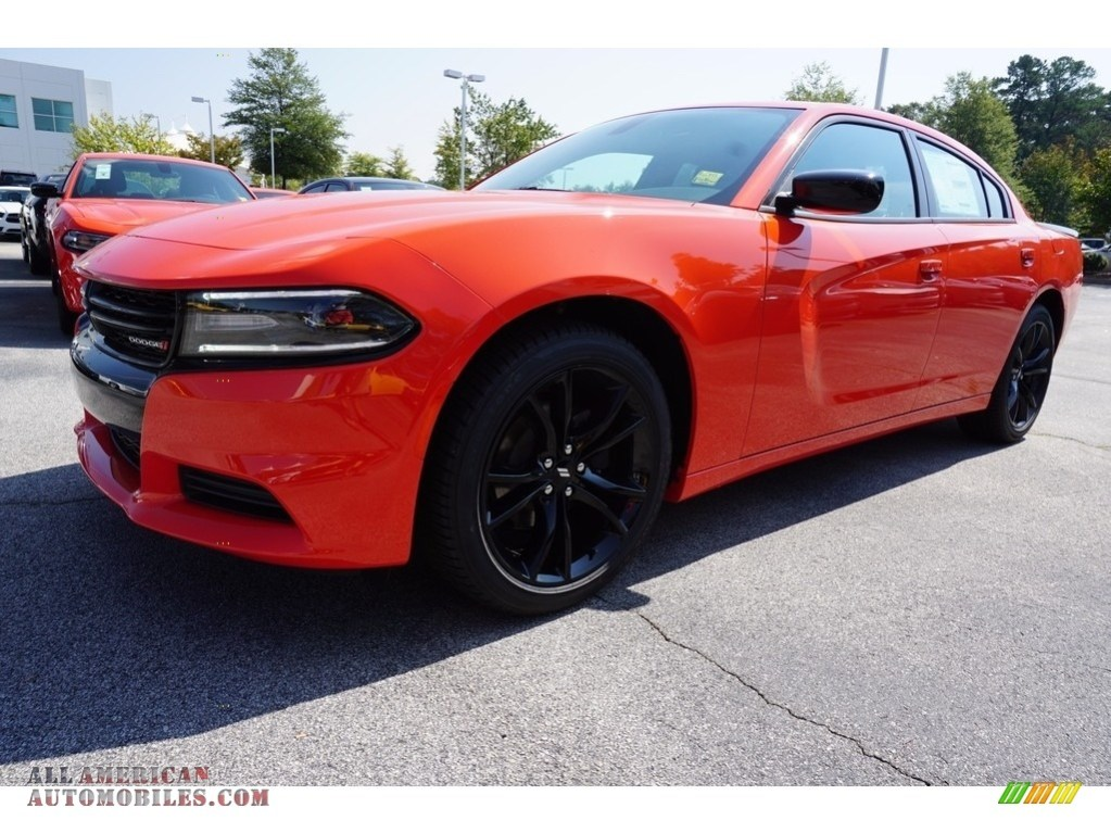 2018 Dodge Charger SXT in Go Mango - 126353 | All American ...