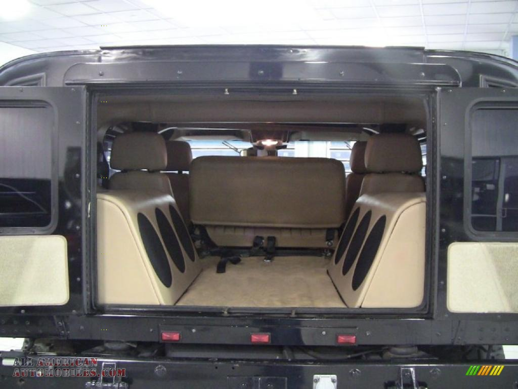 1998 Hummer H1 Wagon In Black Photo 10 181308 All