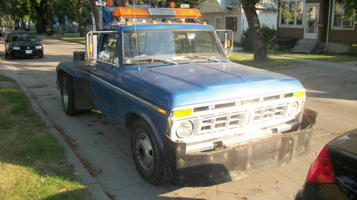 350 Ford Capacity 1979 Towing F