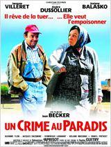 """Affiche du film """"Un crime au paradis"""""""