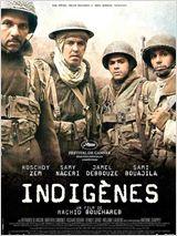 Affiche du film Indigènes de Rachid Bouchareb