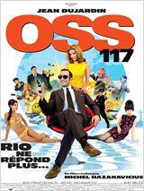 """Affiche du film : """"OSS 117 : Rio ne répond plus"""""""
