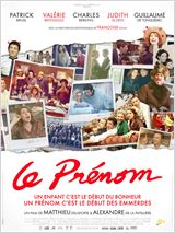 """Affiche du film """"Le prénom"""""""
