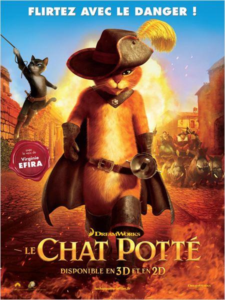 """Affiche du film """"Le Chat Potté"""""""