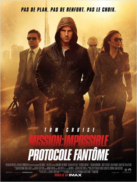 """Affiche du film """"Mission : Impossible - Protocole fantôme"""""""