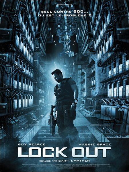 "Affiche du film ""Lock Out"""