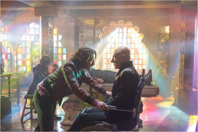 X Men: Days of Future Past : Photo James McAvoy, Patrick Stewart