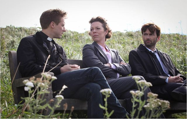Photo Arthur Darvill, David Tennant, Olivia Colman