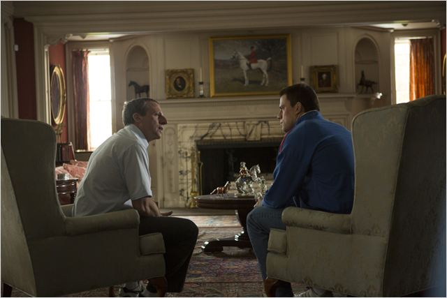 Foxcatcher : Photo Channing Tatum, Steve Carell