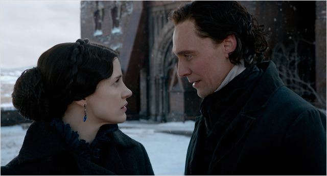 Crimson Peak : Photo Jessica Chastain, Tom Hiddleston