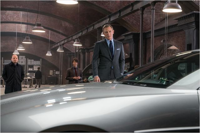 007 Spectre : Photo Ben Whishaw, Daniel Craig, Rory Kinnear