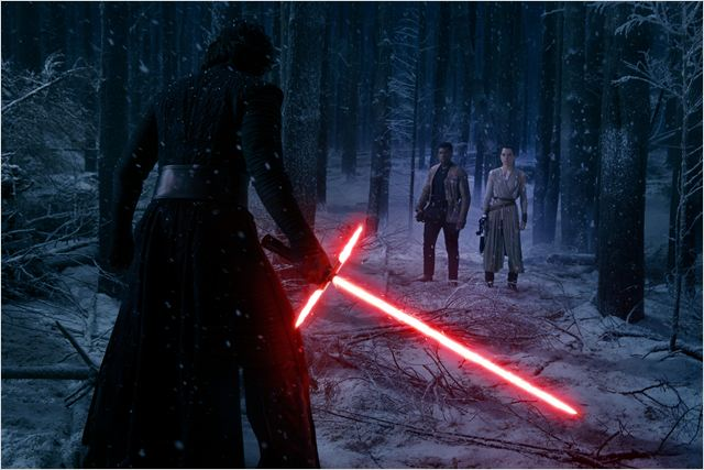 Star Wars - Le Réveil de la Force : Photo Adam Driver, Daisy Ridley, John Boyega