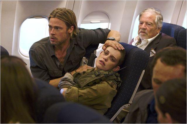 World War Z : Photo Brad Pitt, Daniella Kertesz