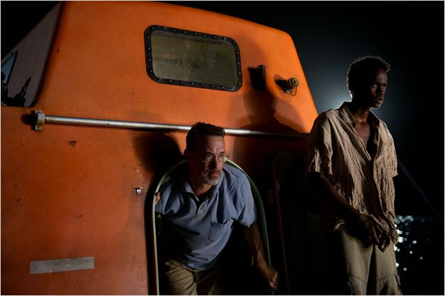 Capitaine Phillips : Photo Barkhad Addirahman, Tom Hanks