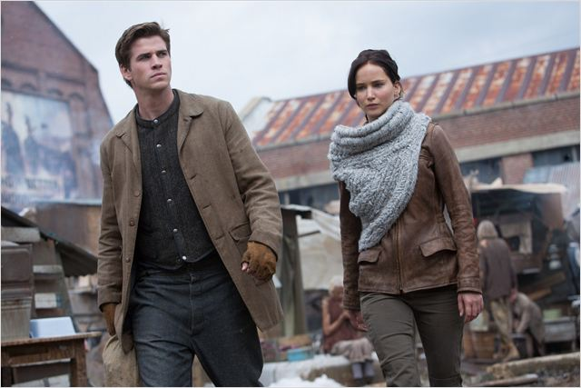 Hunger Games - L'embrasement : Photo Jennifer Lawrence, Liam Hemsworth